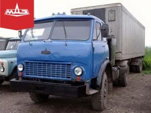 """МАЗ-504Г """", предназначавшийся для буксировки самосвального полуприцепа."""